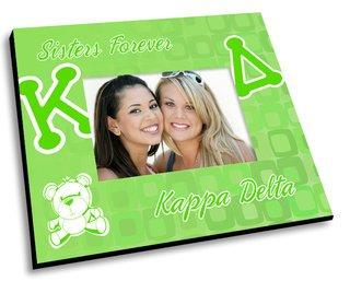 Kappa Delta Mascot Color Picture Frame
