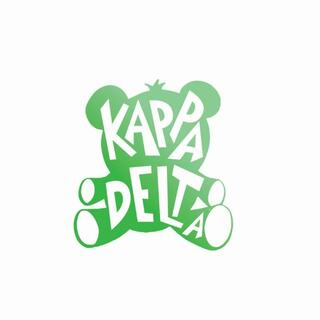 Kappa Delta Mascot Greek Letter Sticker
