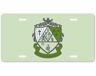 Kappa Delta Crest - Shield License Plate