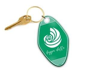 Kappa Delta Mascot Motel Keychain