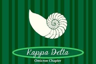Kappa Delta Mascot Tablecloth