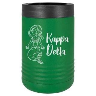 Kappa Delta Mermaid Stainless Steel Beverage Holder