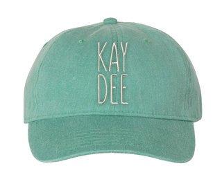 Kappa Delta Mod Comfort Colors Pigment Dyed Baseball Cap