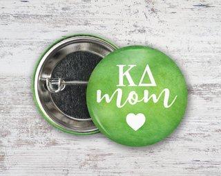 Kappa Delta Mom Button