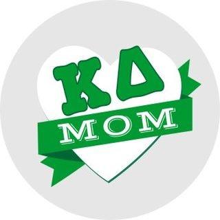 Kappa Delta Mom Round Decals