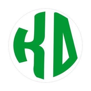 Kappa Delta Monogram Decal