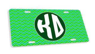 Kappa Delta Monogram License Plate