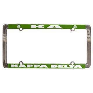 Kappa Delta New Design License Plate Frame