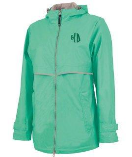 Kappa Delta New Englander Circle Monogram Rain Coat