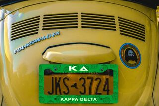 Kappa Delta New License Plate Frame