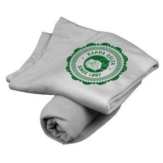 Kappa Delta Old School Seal Sweatshirt Blanket