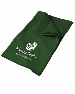 Kappa Delta Mascot Sweatshirt Blanket