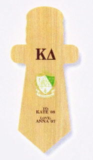 Kappa Delta Paddle / Plaque