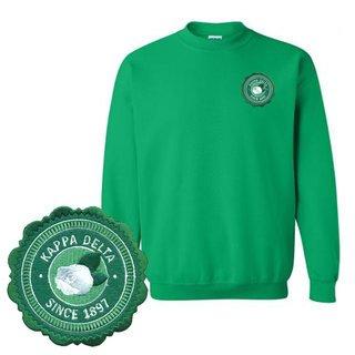 Kappa Delta Patch Seal Sweatshirt