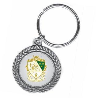 Kappa Delta Pewter Key Ring