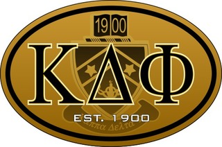 Kappa Delta Phi Color Oval Decal