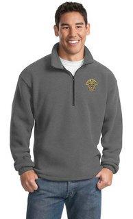 DISCOUNT-Kappa Delta Phi Crest - Shield Emblem 1/4 Zip Pullover