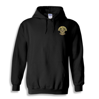 DISCOUNT-Kappa Delta Phi Crest - Shield Emblem Hooded Sweatshirt