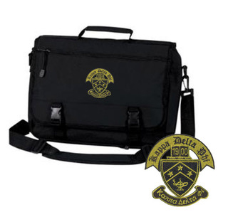 Kappa Delta Phi Crest Greek Expandable Briefcase