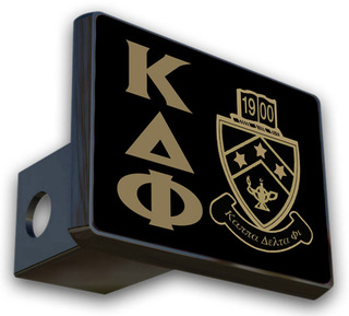 Kappa Delta Phi Crest Trailer Hitch Covers