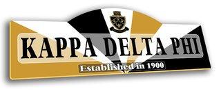 Kappa Delta Phi Display Sign