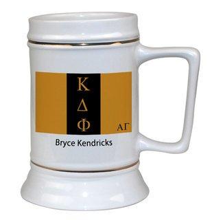 Kappa Delta Phi Flag Ceramic Stein