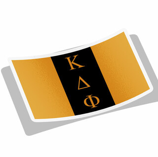 Kappa Delta Phi Flag Decal Sticker