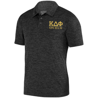 Kappa Delta Phi Greek Letter Intensify Heather Sport Polo
