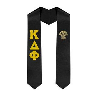 Kappa Delta Phi Greek Lettered Graduation Sash Stole