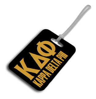 Kappa Delta Phi Luggage Tag