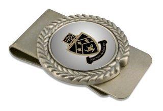 Kappa Delta Phi Pewter Money Clip