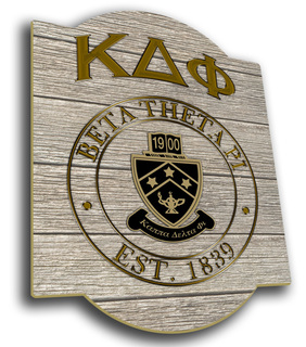 Kappa Delta Phi Traditional Sign