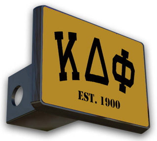 Kappa Delta Phi Trailer Hitch Covers