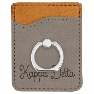 Kappa Delta Phone Wallet with Ring