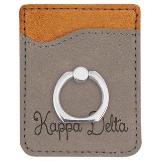 Kappa Delta Phone Wallet with Ring