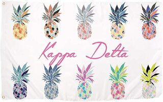 Kappa Delta Pineapple Flag