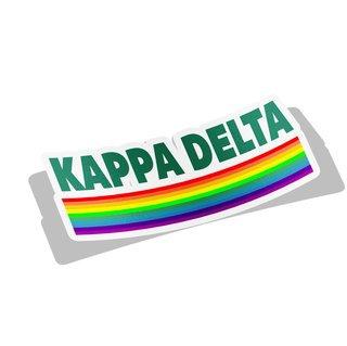 Kappa Delta Prism Decal Sticker