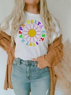 Kappa Delta Rainbow Daisy Tee