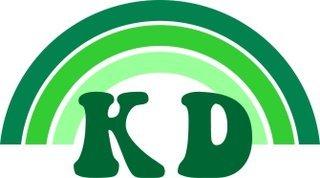 Kappa Delta Rainbow Decals