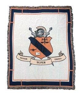 Kappa Delta Rho Afghan Blanket Throw