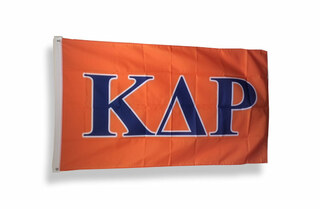 Kappa Delta Rho Big Greek Letter Flag