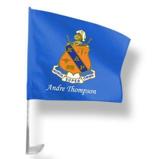 Kappa Delta Rho Car Flag