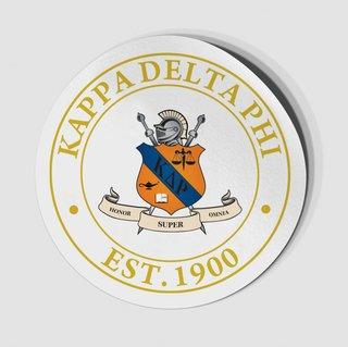 Kappa Delta Rho Circle Crest - Shield Decal