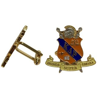Kappa Delta Rho Color Crest - Shield Cuff links-ON SALE!