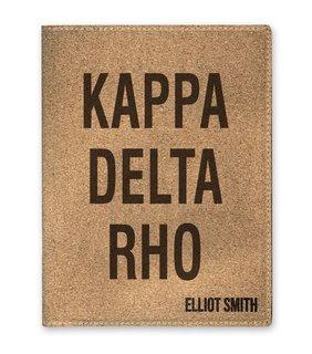 Kappa Delta Rho Cork Portfolio with Notepad