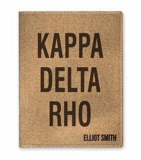 Kappa Delta Rho Cork Portfolio with Notepad