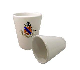 Kappa Delta Rho Crest Ceramic Collectors Glass