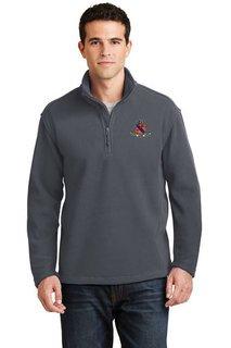 DISCOUNT-Kappa Delta Rho Crest - Shield Emblem 1/4 Zip Pullover