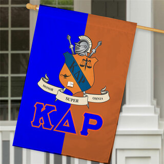 Kappa Delta Rho Crest House Flag