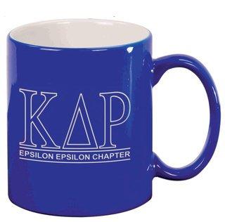 Kappa Delta Rho Custom Ceramic Coffee Mug